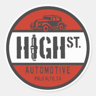 TIENE logotipo Etiquetas