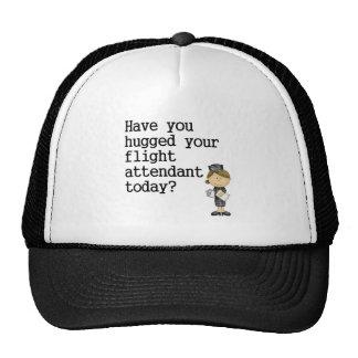 Tiene usted abrazado su asistente de vuelo gorra