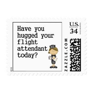 Tiene usted abrazado su asistente de vuelo envio