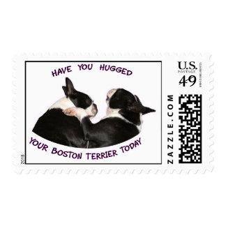 Tiene usted abrazado su Boston Terrier hoy Franqueo