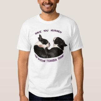 Tiene usted abrazado su Boston Terrier Playera