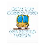 Tiene usted abrazado su conductor del autobús hoy postal