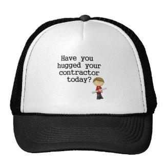 Tiene usted abrazado su contratista gorra