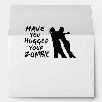 Tiene usted abrazado su zombi hoy sobre