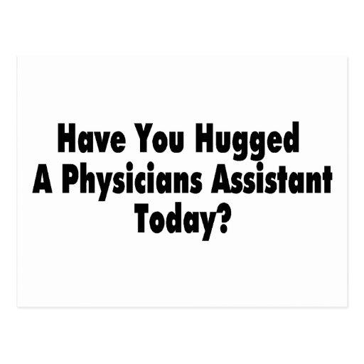 Tiene usted abrazado un ayudante de los médicos postales