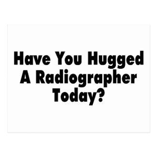 Tiene usted abrazado un ayudante radiólogo hoy postal