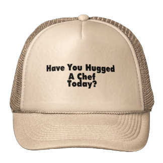 Tiene usted abrazado un cocinero hoy gorros bordados