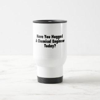 Tiene usted abrazado un ingeniero químico hoy tazas de café