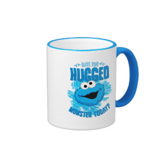 Tiene usted abrazado un monstruo hoy taza de dos colores