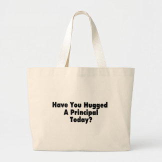 Tiene usted abrazado un principal hoy bolsa tela grande