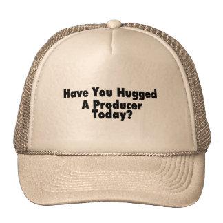 Tiene usted abrazado un productor hoy gorros