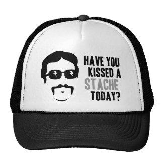 Tiene usted besado un Stache hoy Gorra