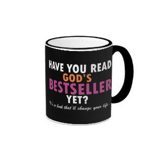 Tiene usted leer el bestseller de dios todavía taza