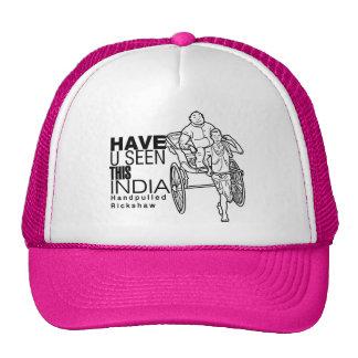 Tiene usted visto la esta India:: Tirador del carr Gorro