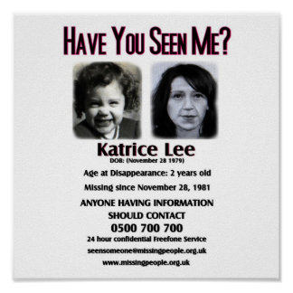 Tiene usted visto me poster de Katrice Lee