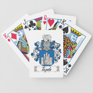 Tiepolo Family Crest Card Decks