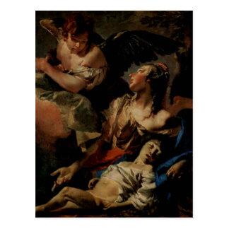 Tiepolo, Giovanni Battista um 1732 c. 1732 Techniq Postcard