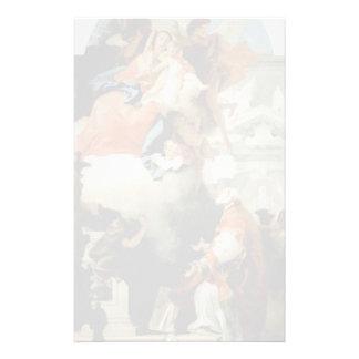 Tiepolo-Virgen de Juan que aparece a St Philip Papeleria