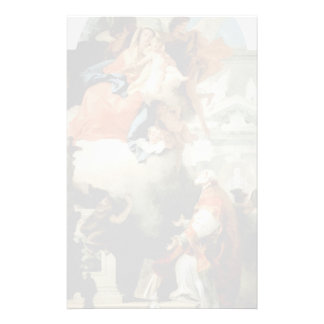 Tiepolo-Virgen de Juan que aparece a St Philip Papelería