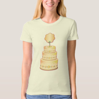 Tiered Cake Template T-Shirt