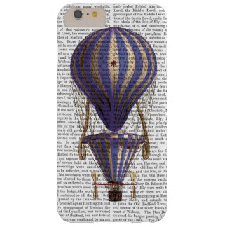 Tiered Hot Air Balloon Blue Barely There iPhone 6 Plus Case