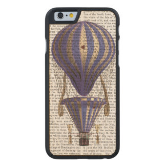Tiered Hot Air Balloon Blue Carved Maple iPhone 6 Case