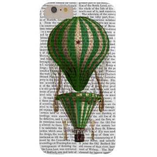Tiered Hot Air Balloon Green Barely There iPhone 6 Plus Case
