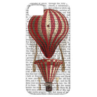 Tiered Hot Air Balloon Print Red iPhone SE/5/5s Case