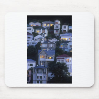Tiered villas and bungalows Oriental Bay Mouse Pad