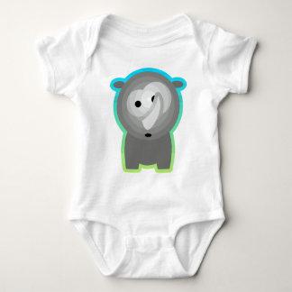 Tierkinder: Nashörnchen Baby Bodysuit