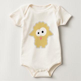 Tierkinder: Schäfchen Baby Bodysuit