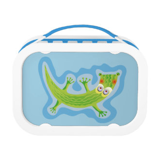 Tierno cocodrilo lunch box