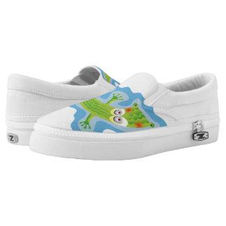 Tierno cocodrilo Slip-On sneakers