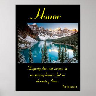 Tierra 10 de los posters del honor
