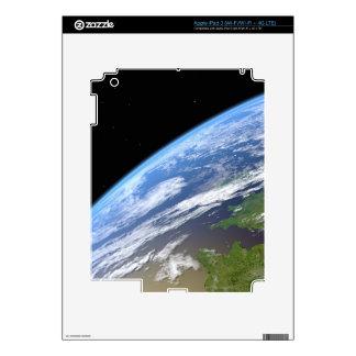 Tierra 10 pegatina skin para iPad 3