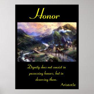 Tierra 1 de los posters del honor