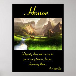 Tierra 31 de los posters del honor