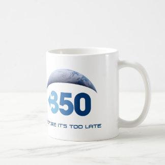 Tierra 350 taza básica blanca