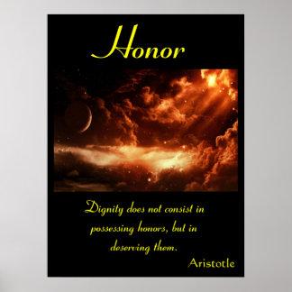 Tierra 36 de los posters del honor