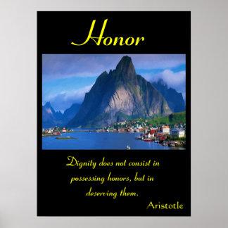 Tierra 37 de los posters del honor