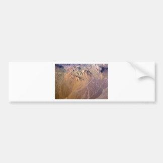 Tierra 3 del planeta etiqueta de parachoque