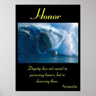 Tierra 4 de los posters del honor