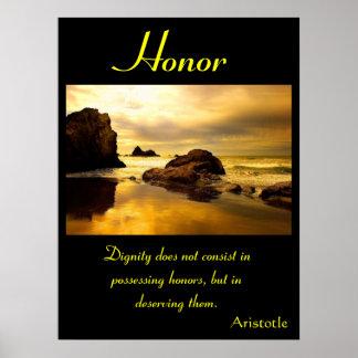 Tierra 5 de los posters del honor