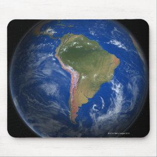 Tierra 5 del planeta alfombrilla de ratones