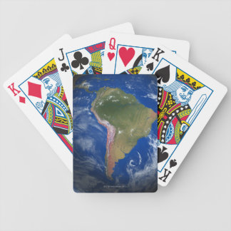 Tierra 5 del planeta baraja de cartas bicycle