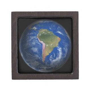 Tierra 5 del planeta cajas de joyas de calidad