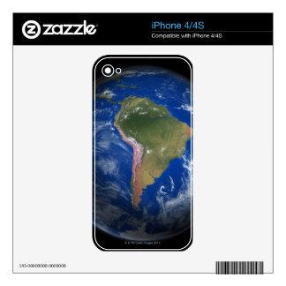 Tierra 5 del planeta calcomanía para iPhone 4