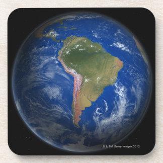Tierra 5 del planeta posavasos