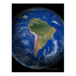 Tierra 5 del planeta postales
