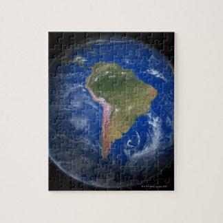 Tierra 5 del planeta puzzle